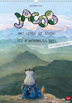 Kater Jacob: Das Leben ist schön, it´s a wonderful life (Wandkalender 2020 DIN A3 hoch) von Hartmann,  Sven