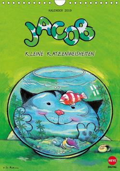 Kater Jacob kleine Katzenweisheiten (Wandkalender 2019 DIN A4 hoch) von Hartmann,  Sven