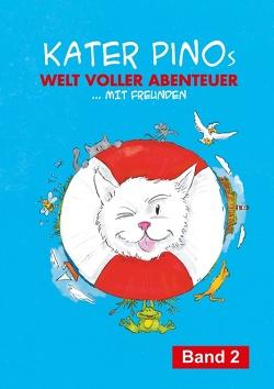 Kater Pinos Welt voller Abenteuer von Gähler,  Karin