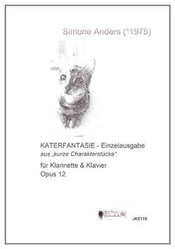 Katerfantasie Opus 12 von Anders,  Simone