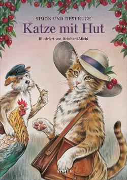 Katze mit Hut von Michl,  Reinhard, Ruge,  Desi, Ruge,  Simon