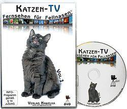 Katzen-TV – Fernsehen für Fellnasen – Vol. 1 – Der ultimative Katzenspaß! Das Geschenk für Katzen – Video für Katzen von Hawelka Verlag