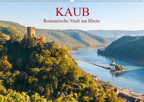 Kaub – Romantische Stadt am Rhein (Wandkalender 2020 DIN A2 quer) von Hess,  Erhard