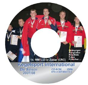 Kegelsport International. Die Saison 2007 /2008 von Barth,  Klaus