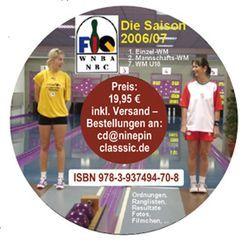Kegelsport International. Saison 2006 /2007 von Barth,  Klaus