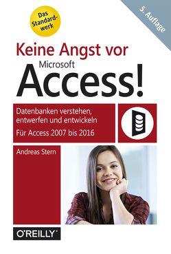 Keine Angst vor Access! von Stern,  Andreas