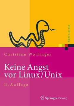 Keine Angst vor Linux/Unix von Wolfinger,  Christine