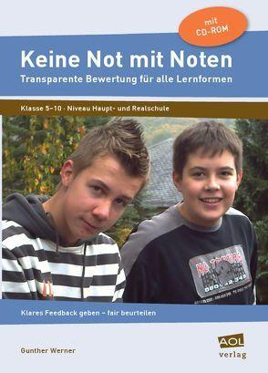 Keine Not mit Noten von Werner,  Gunther