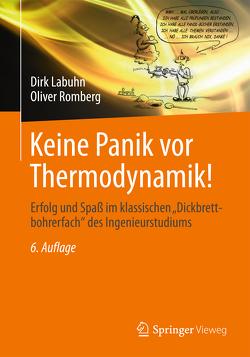 Keine Panik vor Thermodynamik! von Labuhn,  Dirk, Romberg,  Oliver