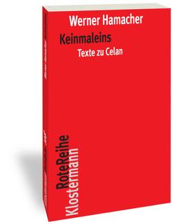 Keinmaleins von Hamacher,  Werner, Nancy,  Jean-Luc