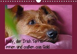Kelly, der Irish Terrier – innen und außen aus Gold (Wandkalender 2019 DIN A4 quer) von Schimon,  Claudia