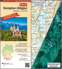 Kempten (Allgäu) von BKG - Bundesamt für Kartographie und Geodäsie