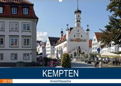 Kempten – Ansichtssache (Wandkalender 2019 DIN A2 quer) von Bartruff,  Thomas