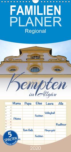Kempten im Allgäu – Familienplaner hoch (Wandkalender 2020 , 21 cm x 45 cm, hoch) von Reichenauer,  Maria