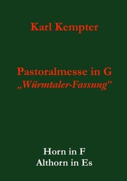 Kempter: Pastoralmesse in G.Horn.Althorn von Kempter,  Karl