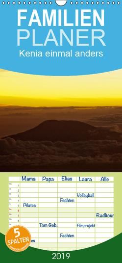 Kenia einmal anders – Familienplaner hoch (Wandkalender 2019 , 21 cm x 45 cm, hoch) von Scholz,  Frauke