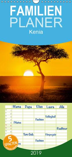 Kenia – Familienplaner hoch (Wandkalender 2019 , 21 cm x 45 cm, hoch) von med. Gerd-Uwe Neukamp,  Dr.