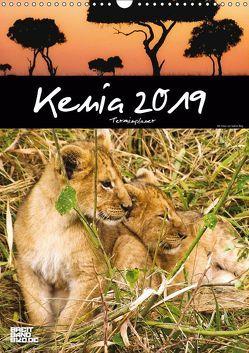 Kenia – Terminplaner (Wandkalender 2019 DIN A3 hoch) von Bieg,  Sabine
