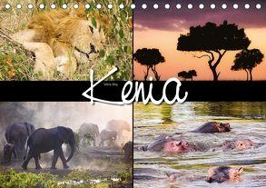 Kenia (Tischkalender 2018 DIN A5 quer) von N.,  N.