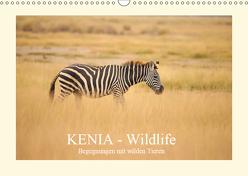 KENIA Wildlife – Begegnungen mit wilden Tieren (Wandkalender 2019 DIN A3 quer) von Demel,  Andreas
