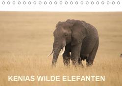 Kenias wilde Elefanten (Tischkalender 2019 DIN A5 quer) von Demel,  Andreas