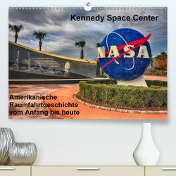 Kennedy Space Center (Premium, hochwertiger DIN A2 Wandkalender 2021, Kunstdruck in Hochglanz) von Eberschulz,  Lars