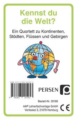 Kennst du die Welt? von Finkenstein,  Josephine