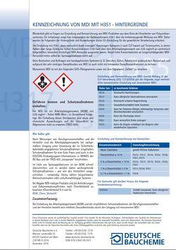 Kennzeichnung von MDI mit H351 – Hintergründe (Online-Datei)