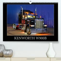 KENWORTH W900B (Premium, hochwertiger DIN A2 Wandkalender 2021, Kunstdruck in Hochglanz) von Laue,  Ingo