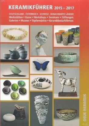 Keramikführer 2015 – 2017 von Pfannkuche,  Bernd