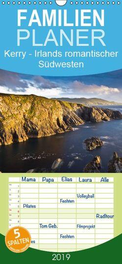 Kerry – Irlands romantischer Südwesten – Familienplaner hoch (Wandkalender 2019 , 21 cm x 45 cm, hoch) von Hess,  Holger