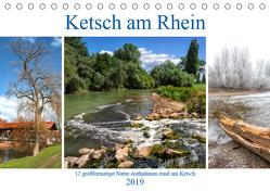 Ketsch am Rhein (Tischkalender 2019 DIN A5 quer) von Assfalg,  Thorsten