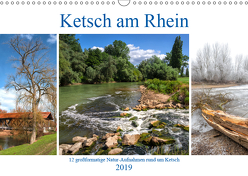 Ketsch am Rhein (Wandkalender 2019 DIN A3 quer) von Assfalg,  Thorsten