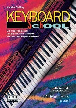 Keyboard School von Sahling,  Karsten