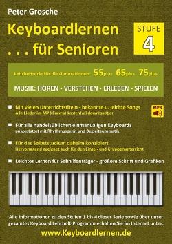 Keyboardlernen für Senioren (Stufe 4) von Grosche,  Peter