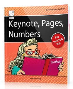 Keynote, Pages, Numbers Handbuch von Brede,  Gabi, Radke,  Horst-Dieter