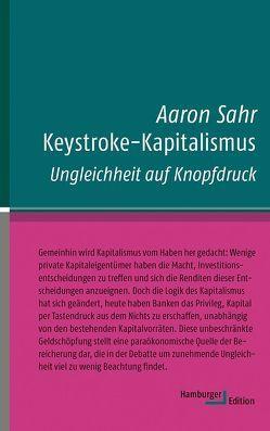 Keystroke-Kapitalismus von Sahr,  Aaron