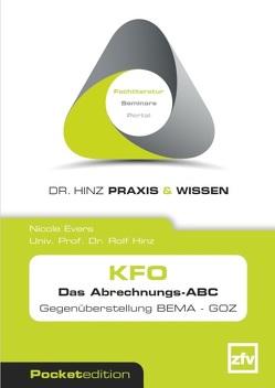 KFO Das Abrechnungs-ABC von Evers,  Nicole, Hinz,  Rolf