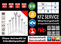 KFZ AUTOMOBIL SERVICEHEFT Scheckheft Inspektionsheft Wartungsheft Service Leistungen von Sültz,  Renate, Sültz,  Uwe H.
