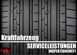KFZ Serviceheft Scheckheft Inspektionsheft Wartungsheft – Car inspection booklet von Sültz,  Uwe H.