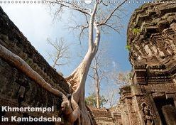 Khmertempel in Kambodscha (Wandkalender 2018 DIN A3 quer) von Schneider,  Michaela