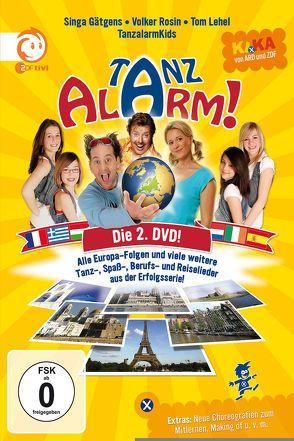 KI.KA Tanzalarm! – die 2. DVD! von Gätgens,  Singa, Lehel,  Tom, Rosin,  Volker, Tanzalarmkids