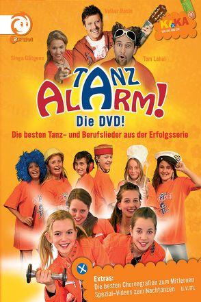 KI.KA Tanzalarm! – die DVD! von Gätgens,  Singa, Lehel,  Tom, Rosin,  Volker, Tanzalarmkids