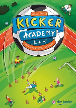 Kicker Academy – Nachwuchsstar gesucht von Engler,  Michael, Kühler,  Anna-Lena