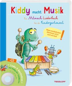 Kiddy macht Musik (+ CD) von Kowalew,  Erich, Lohr,  Stefan