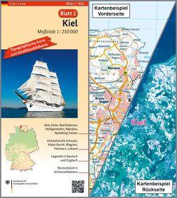 Kiel von BKG - Bundesamt für Kartographie und Geodäsie