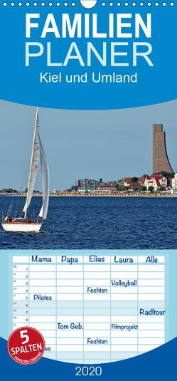 Kiel und Umland – Familienplaner hoch (Wandkalender 2020 , 21 cm x 45 cm, hoch) von Kulartz,  Rainer