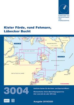 Kieler Förde, rund Fehmarn, Lübecker Bucht von Bundesamt für Seeschifffahrt und Hydrographie