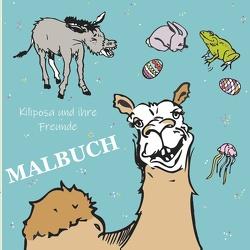 Kiliposa und ihre Freunde – Malbuch – von Hofmann-Hidde,  Stefanie