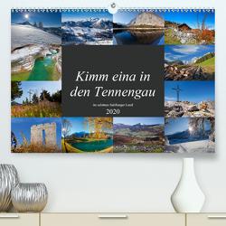 Kimm eina in den Tennengau (Premium, hochwertiger DIN A2 Wandkalender 2020, Kunstdruck in Hochglanz) von Kramer,  Christa
